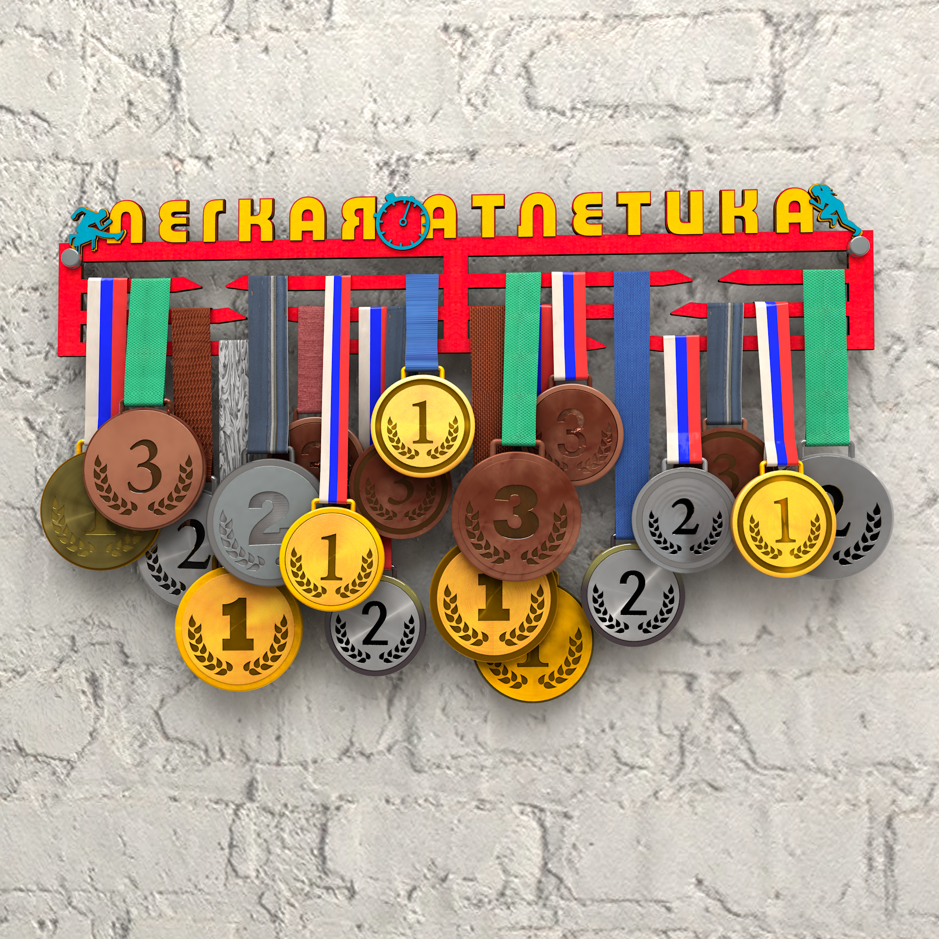 Медальница Легкая атлетика