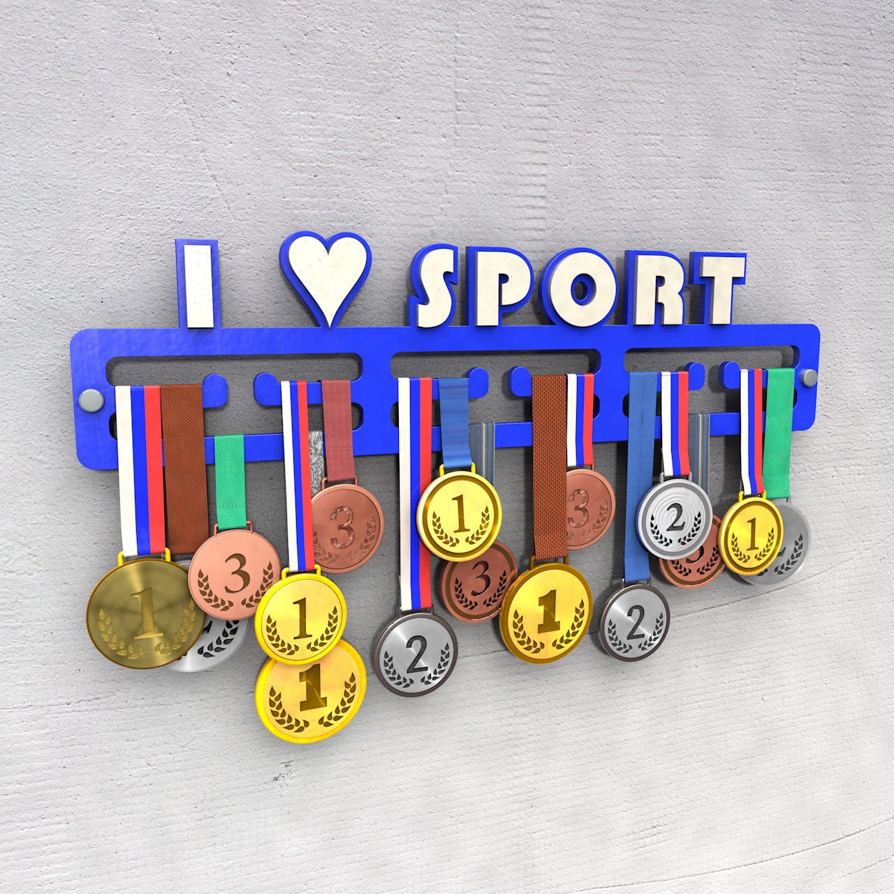 "Медальница ""I love sport"""