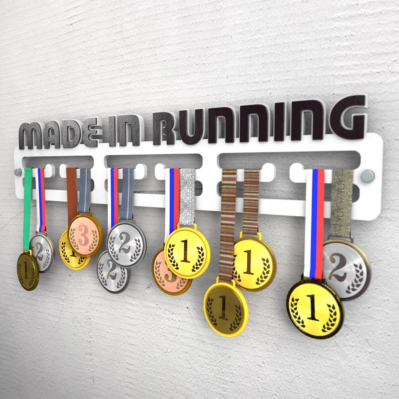 """Медаллер """"Made in running"""""""