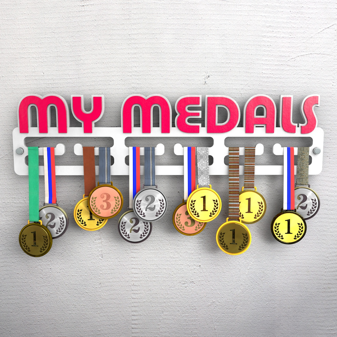 "Медальница с надписью ""My medals"""