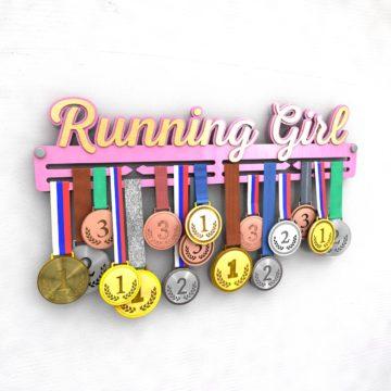 """Медальница """"Running Girl"""""""