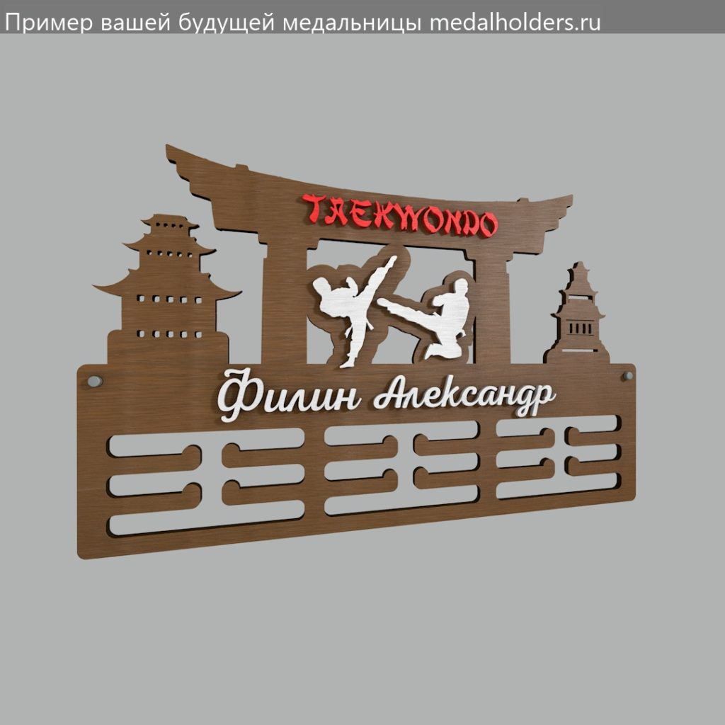 Медальница тхеквондо