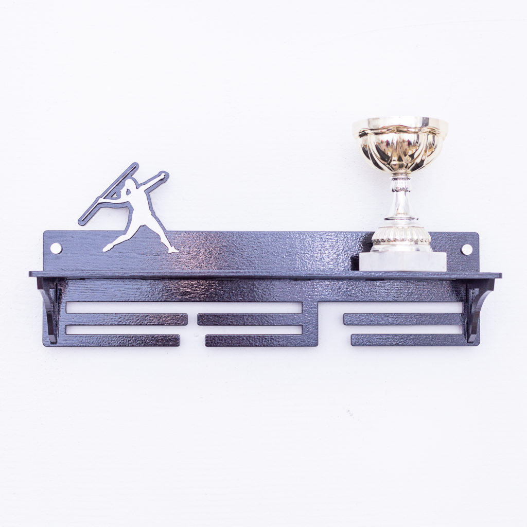 Медальница Легкая атлетика, черная