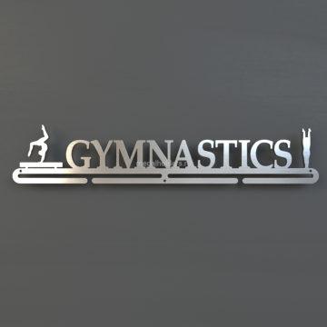 Медальница Гимнастика, из металла