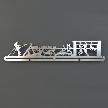 Медальница OCR, из металла