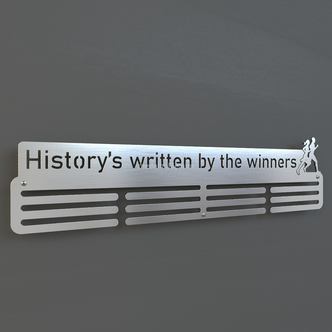 Медальница History's written by the winners, из металла