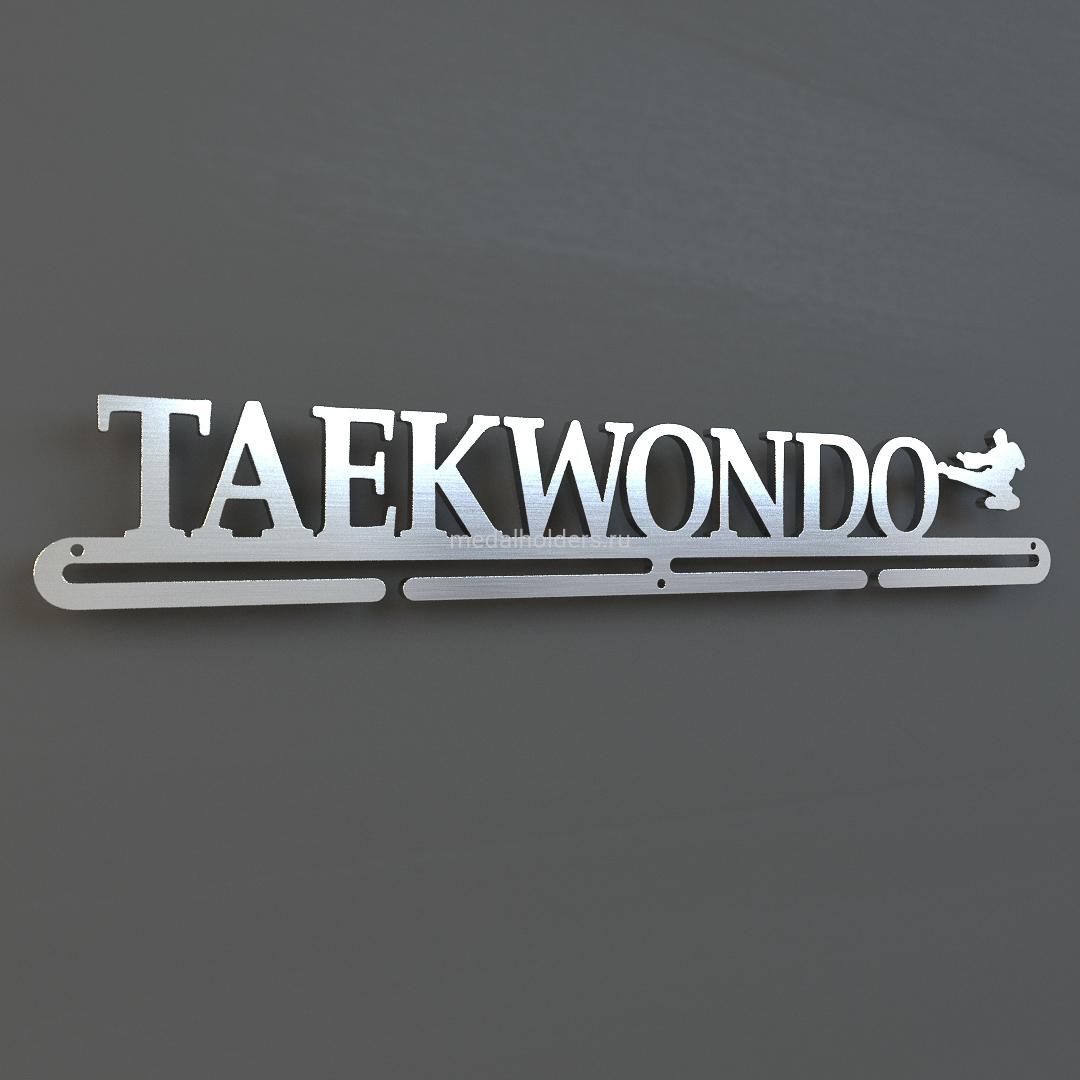 Медальница Тхэквондо, из металла
